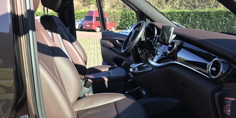 Mercedes V250d (asientos en cuero confort)